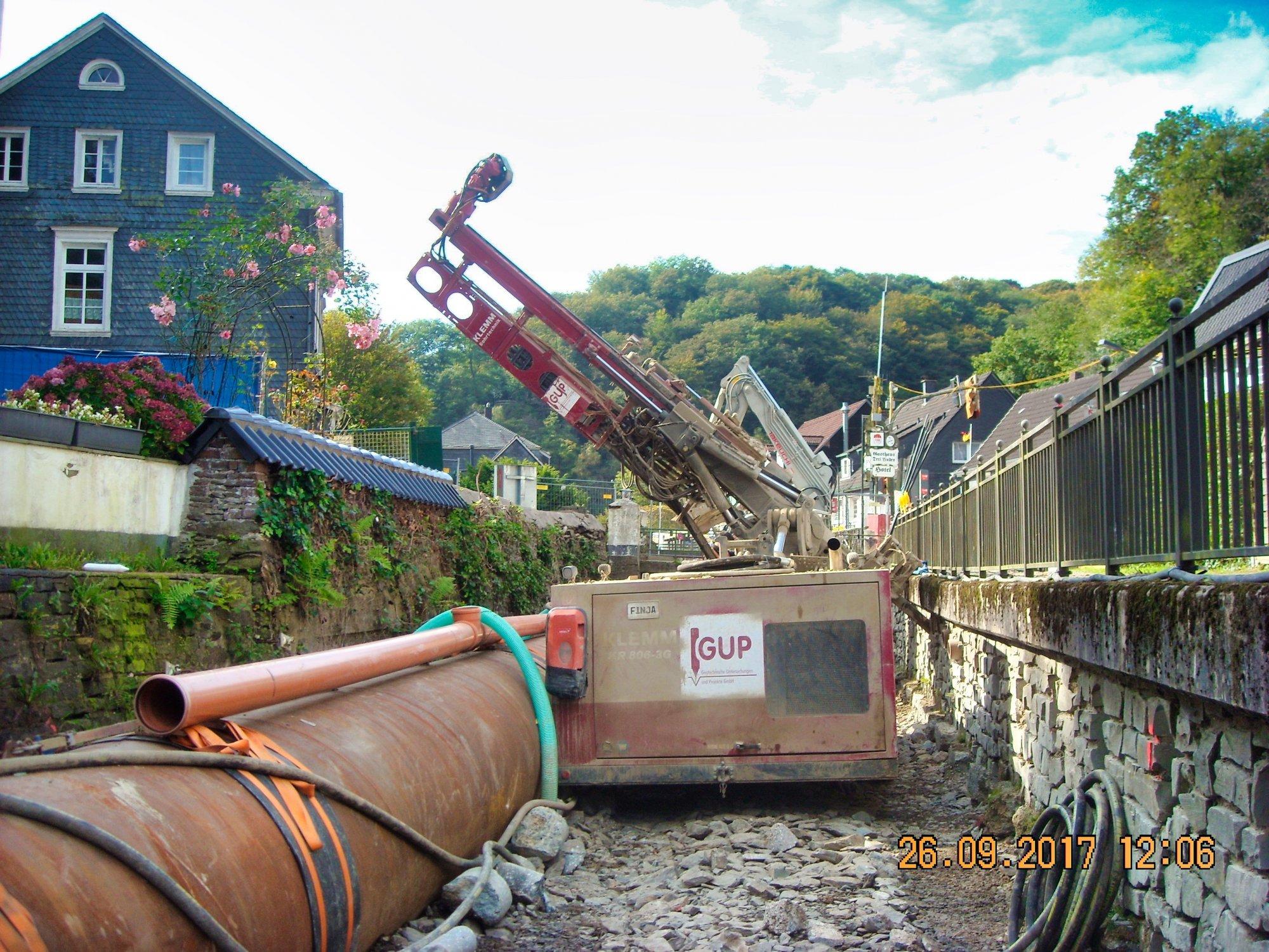 Hochwasserschutz Eschbach, Sanierung und Erweiterung